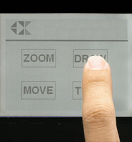 Custom Capacitive Touch Panel
